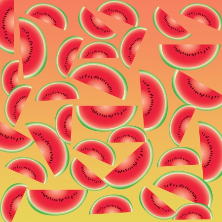 Watermelon abstract background and pattern photo