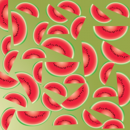 Watermelon abstract background and pattern Stock Photo