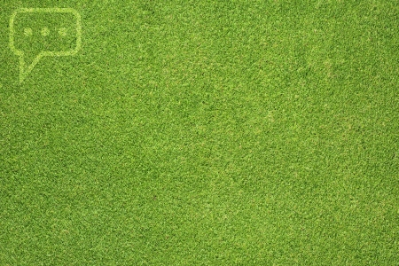 Comment on green grass texture and  background photo