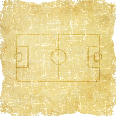 Sport basketball icon on old paper background and textured photo