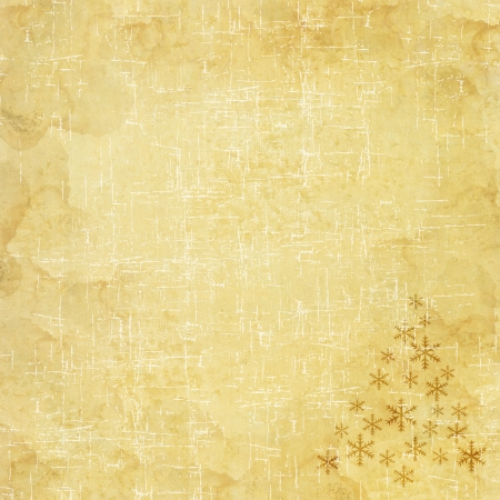 Christmas icon on paper background photo