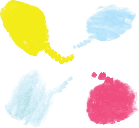 Water Color Paint Stock Vector - 17100883