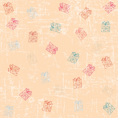Drawing valentine background Vector