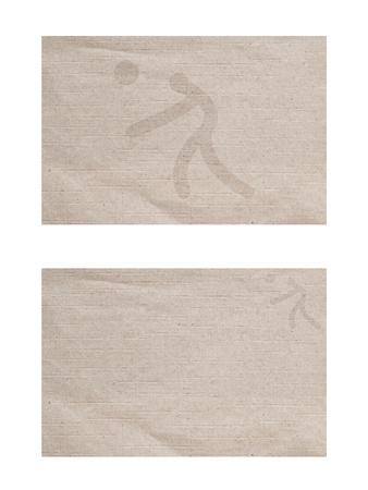 ballon volley: Ic�ne de ballon sport volley sur la texture de vieux papier et le fond