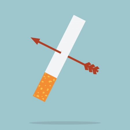 Stop Smoking Stock Vector - 19621627