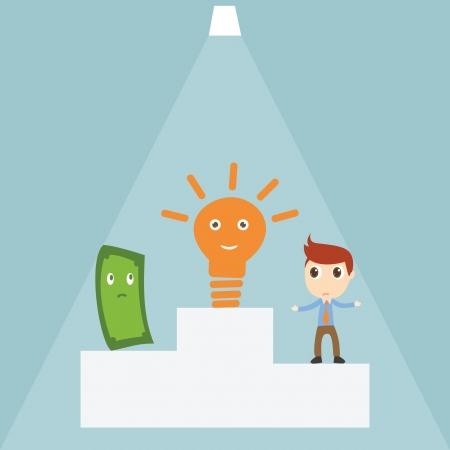 Idea winner Vector