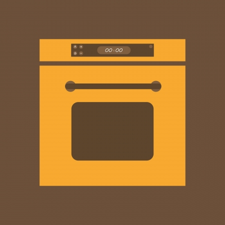 Electric Oven Vector