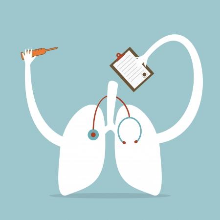 cancer de pulmon: Salud Vectores