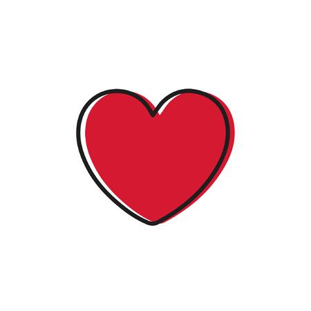 heart symbol vector.