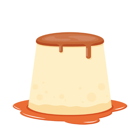 pudding vector. symbol. Stock Illustratie