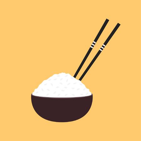 Rice cartoon vector. symbol.