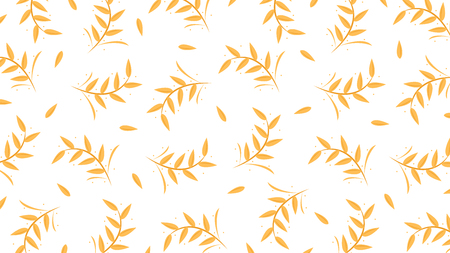 Oat pattern vector. wallpaper. background.