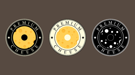 Cheese logo design. symbol.