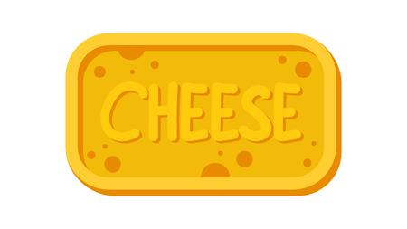 Cheese vector logo. symbol.