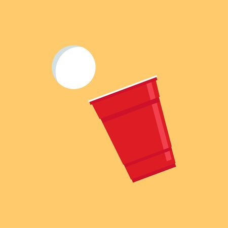 Beer cup cartoon vector. symbol. l