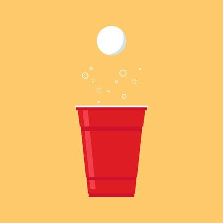 Beer cup cartoon vector. symbol.