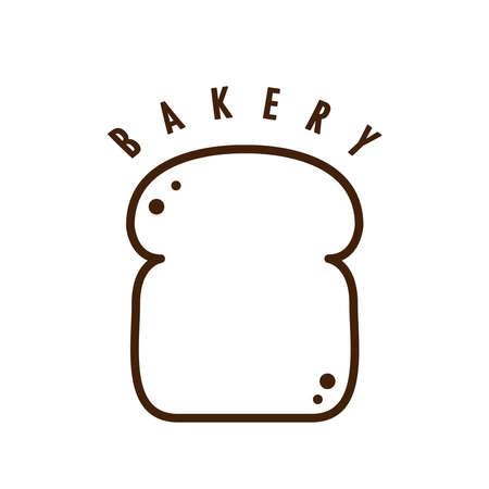 Bread vector. bread symbol. wallpaper. free space for text. bread logo design.