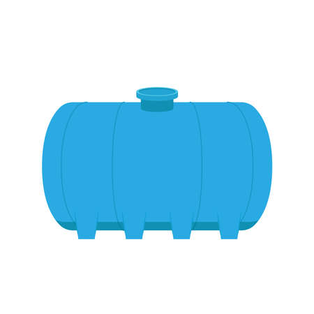Water tank vector. wallpaper. water tank on white background.