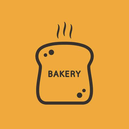 Bakery  design. bread symbol. Bread  design.