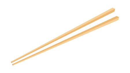 Chopsticks vector. chopsticks white background. wallpaper. free space for text.