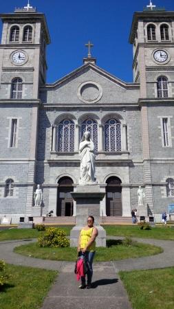 Site de l'église à Terre-Neuve Banque d'images - 21859730