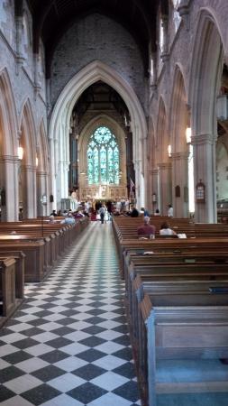 Internal church architecture