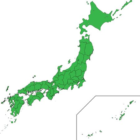 Map Japan Nationwide