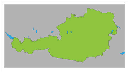Here's a map of Austria.