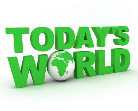 World globe photo