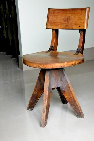 antique chair: Antique wooden chair