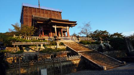 日本のお寺の改修