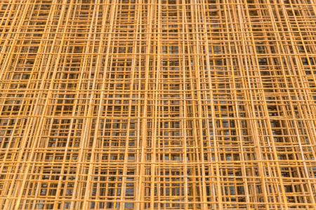 rusty: Rusty Construction Steel Rods Stock Photo