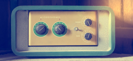 preamp: Vintage Microphone amplifier