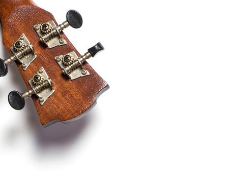 tuning: Guitar Head Tuning Knob turn Stock Photo