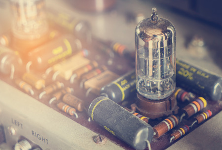 amp: Vintage tube bulb used in Audio hifi in vintage tone