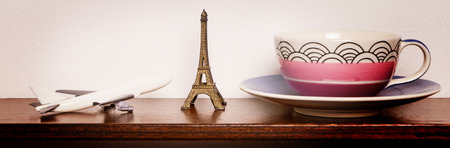 for tea: Travel for tea in paris Banner