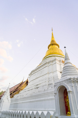 social history: Thai Golden Stupa in Lampang District