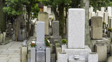 tomb: Japanese Blank Tomb stones