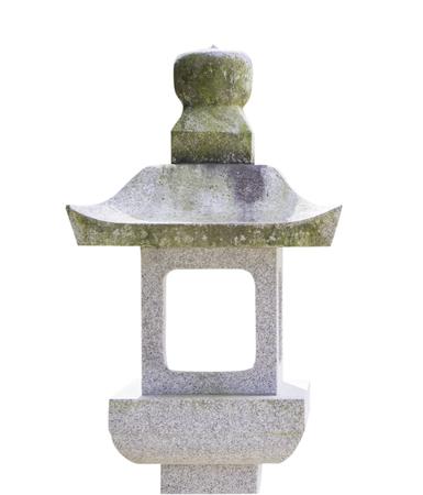 haiku: Japanese Stone Lantern Stock Photo