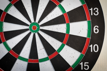 holed: used Dart Board with holds