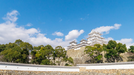 renovated: A part of Himeji Castle is renovated