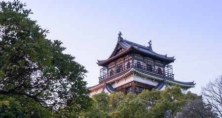 hiroshima: Top of Hiroshima Wooden Castle Editorial