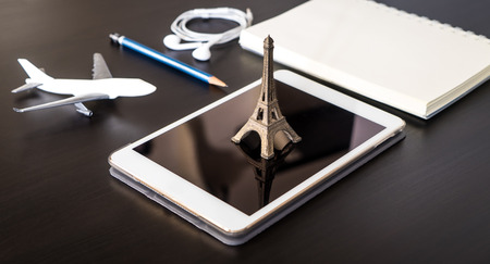 Online travel agency booking to France Paris.