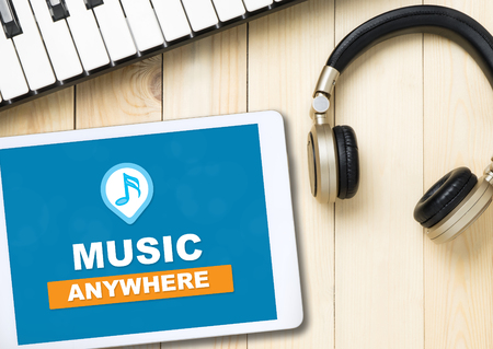 Listen to Music anywhere from Internet with Music Streaming