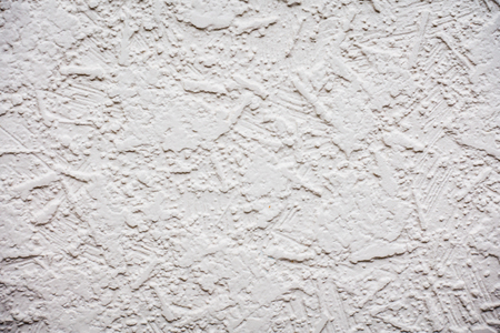 Rough plaster concrete wall for texture and background. Stock Photo