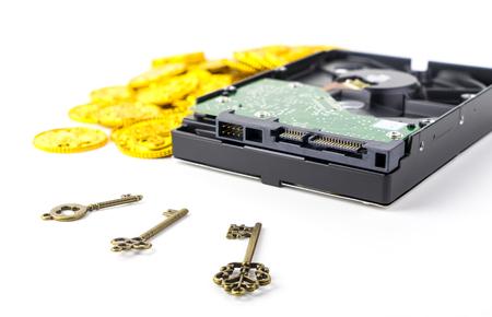 データは、お金を必ずロックしてデータを保護します。