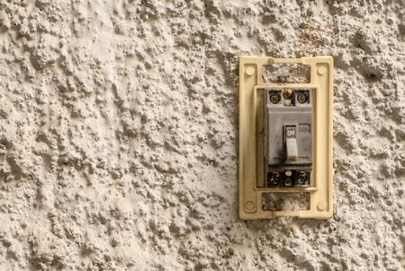 Elektrisch breken schakelt de kopieermachine van de stucwerkmuur in