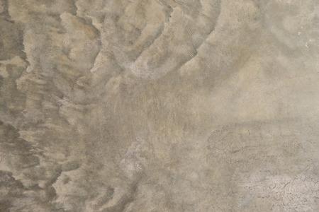 背景の波質のセメントの床 写真素材