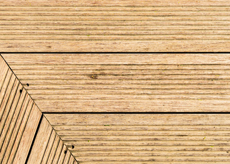old wooden plank floor for texture and background angle
