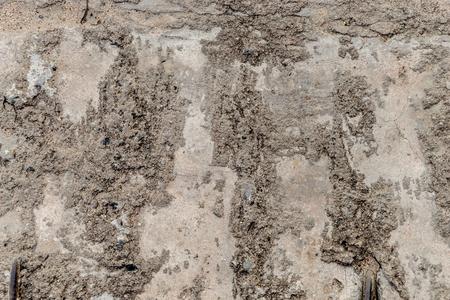 Dirt rough concrete construction wall texture Stock fotó